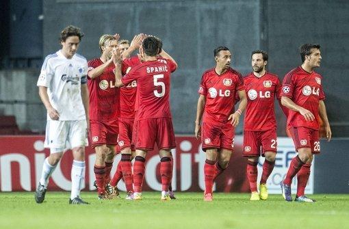 Leverkusen gewinnt Hinspiel 3:2