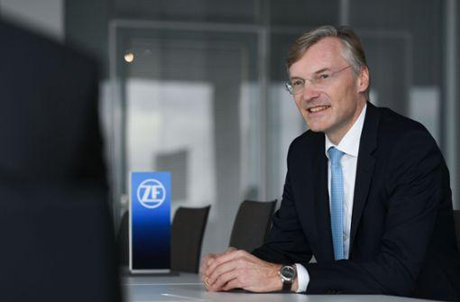 ZF-Chef Wolf-Henning Scheider  sieht Spielraum für  weitere Zukäufe. Foto: ZF