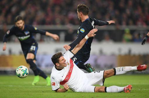 Mario Gomez erzwingt den Siegtreffer
