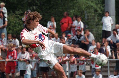 Einer der ganz Stillen: Sébastien Fournier spielte in der Saison 1996/97 ein Jahr für den VfB, wurde Pokalsieger und war prompt wieder weg. Foto: Baumann