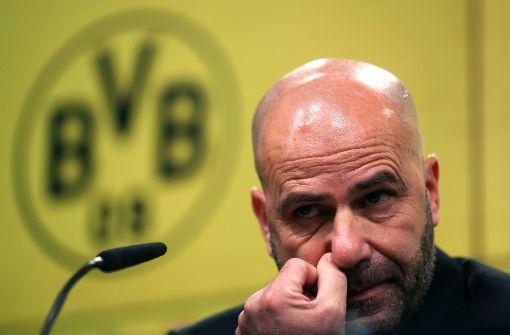 Peter Bosz vor Entlassung beim BVB