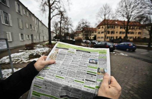 Der Wohnungsmarkt in Stuttgart hält durchaus Angebote bereit – wer eine günstige Bleibe sucht, hat aber Schwierigkeiten. Foto: Leif Piechowski