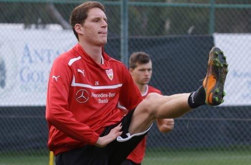 Benedikt Röcker, der vom Drittliga-Team zu den Profis aufrückte, erhielt einen Vertrag bis 2015.   Foto: Pressefoto Baumann