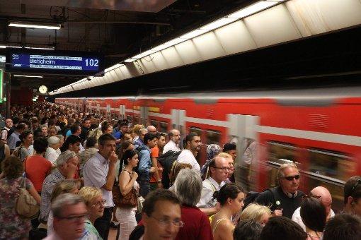 Bahn-Chaos noch bis Freitag