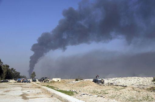 Irakische Truppen beginnen Häuserkämpfe