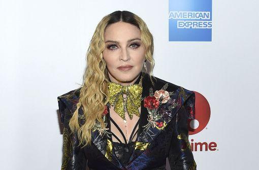 Madonna macht ihrem Ärger Luft
