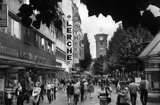 Die Lerche war viele Jahre lang die Nummer 1 in Stuttgart, wenn es um Platten, Elektrogeräte und Hifi ging. Foto: Michael Steinert (Archiv)