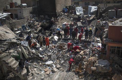 Anti-IS-Koalition flog offenbar tödliche Luftangriffe