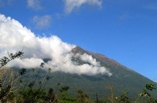 Auf Bali war im September 2017 auch ein Vulkan ausgebrochen. Foto: dpa (Symbolbild)