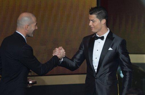 Ronaldo ist Weltfußballer des Jahres 2013 Foto: dpa