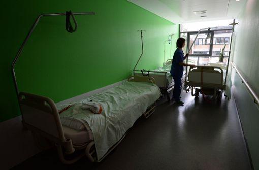 Weniger Geld für Kliniken