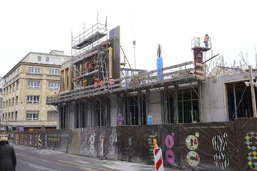 Baustellen: Das Gerber im Februar