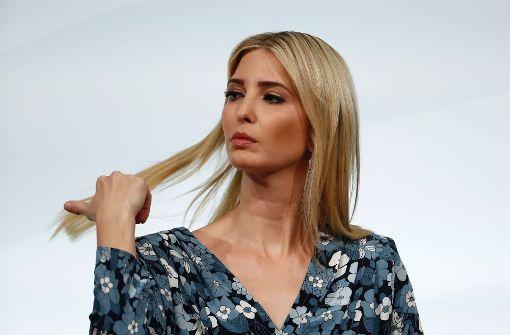 Ivanka Trump verteidigt ihren Vater