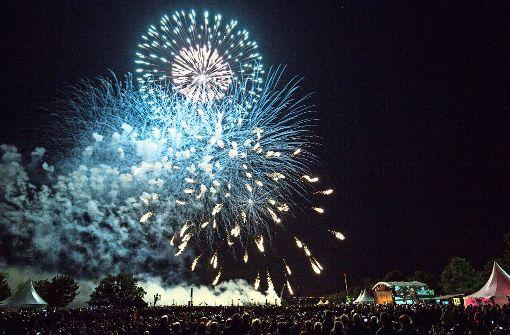 Ansturm auf das Feuerwerksfestival
