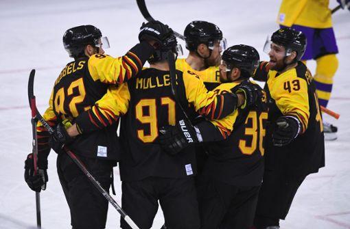 Deutsches Eishockey-Team sensationell im Halbfinale