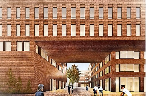 esslingen campus neue weststadt nimmt gestalt an landkreis esslingen stuttgarter nachrichten. Black Bedroom Furniture Sets. Home Design Ideas
