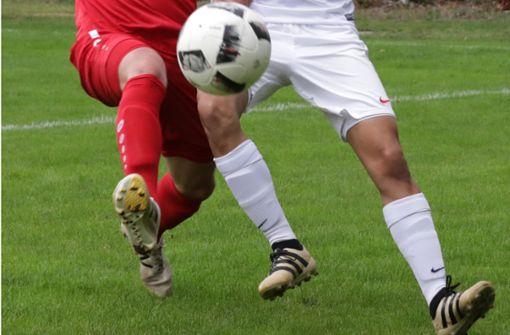 Die Fußballer des TSV Georgii Allianz wünschen sich einen Kunstrasenplatz, um auch in Zukunft einen geregelten Fußballsport gewährleisten zu können. Foto: Patricia Sigerist