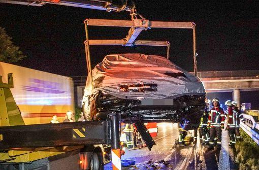 Porsche fährt ungebremst in Twingo