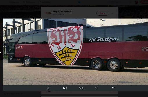 So sieht der neue VfB-Mannschaftsbus aus