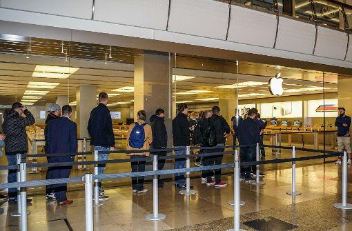 Ansturm auf iPhone 8 bleibt aus