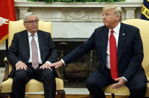 EU und USA entschärfen Handelsstreit