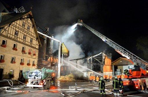 Mühlenbrand wurde wohl gelegt