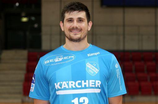 Robert Markotic ist Bundesliga-Handballer des TVB Stuttgart.  Foto: Pressefoto Baumann