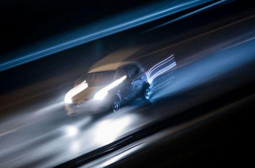 Illegale Autorennen auf dem Schurwald