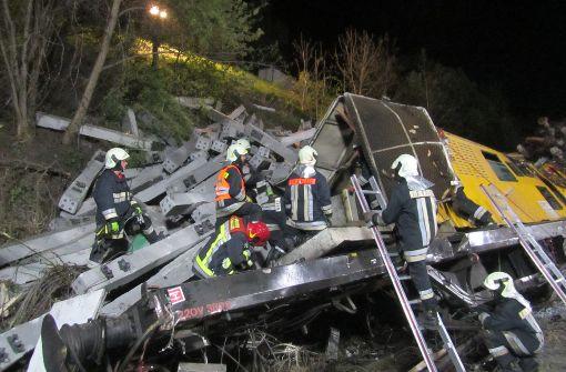 Zwei Tote und mehrere Verletzte nach Zugunglück