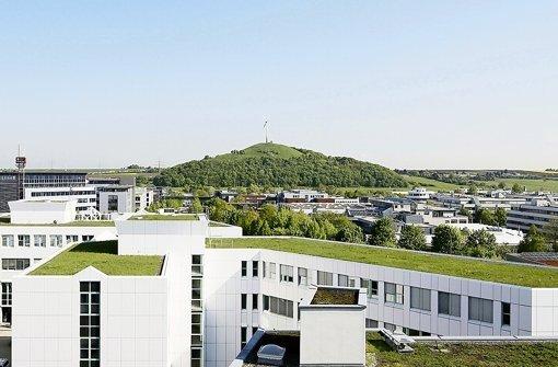 Das Marketingkonzept der Standortinitiative rückt unter anderem den grünen Charakter des Gewerbegebiets in den Fokus. Foto: Weilimpark