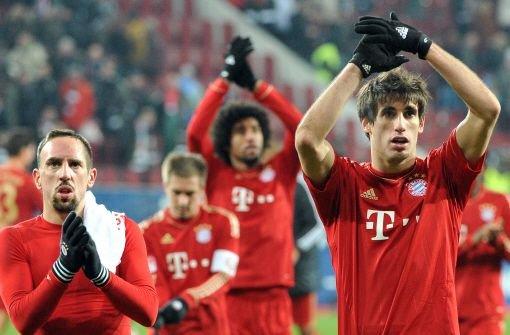 ... bFC Bayern München/b hat es der 24-Jährigen angetan. Als die Münchner den VfB Stuttgart in der Hinrunde mit 6:1 aus der Allianz-Arena schossen, twitterte Görges während des Spiels: Das Ergebnis ist ja bis jetzt wie im Tennis.br Foto: dpa