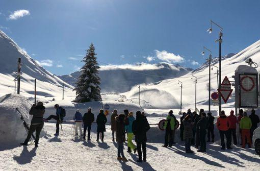 Winter Wonderland und höchste Lawinengefahr
