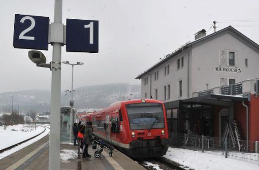 Bei der Brenzbahn fallen Züge aus