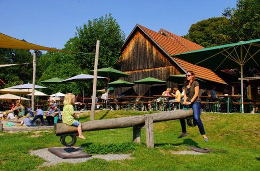 Klettergerüst Reim : Biergärten mit spielplatz in stuttgart: hier kommen eltern und