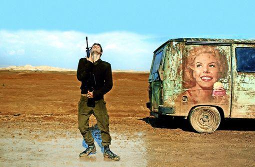 Israelische Eltern und  der Krieg