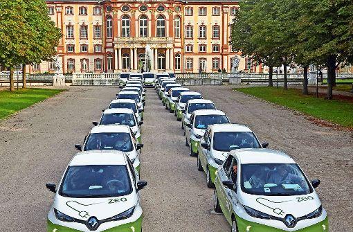Bruchsal ist vom  E-Carsharing überzeugt