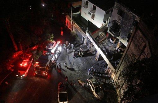 Sieben Tote bei Flugzeugabsturz