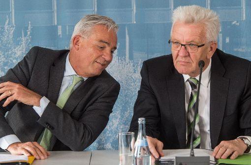 Kretschmann und Strobl stehen unter Druck