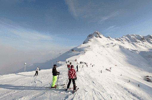 An der Kanzelwand kann man mit einem Skipass in Deutschland und in Österreich Ski fahren.  Foto: Bergbahnen Oberstdorf/Kleinwalsertal
