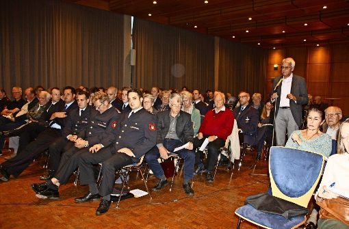 Beim Bürgerdialog in Stetten ist   Zuhören gefragt