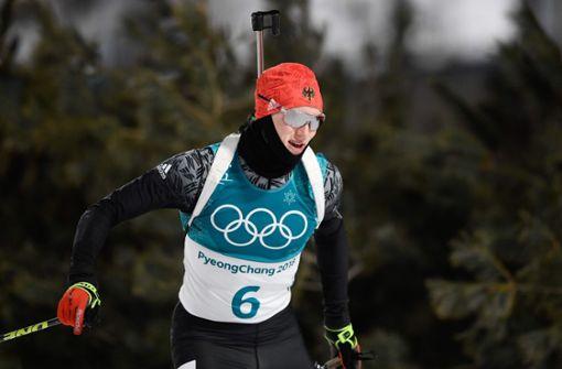 Bronze für Benedikt Doll in der Biathlon-Verfolgung