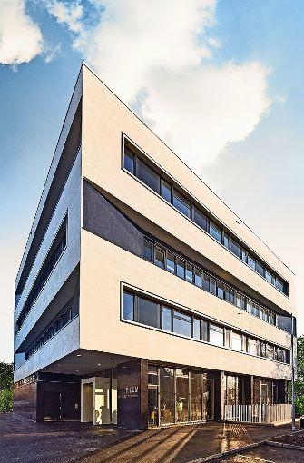 Schwarz und weiß wie Klaviertasten: die Fassaden der Musikschule Foto:  Mario P. Rodrigues
