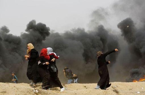 Wieder Tausende Palästinenser bei Protesten