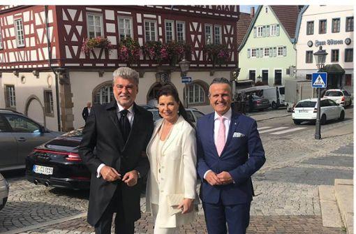 Stuttgarts bekanntester   Promi-Fotograf heiratet  in Backnang