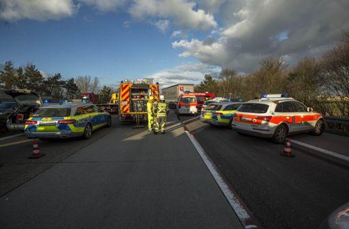 Bei dem Unfall sind mehrere Menschen ums Leben gekommen. Foto: 7aktuell.de/Simon Adomat