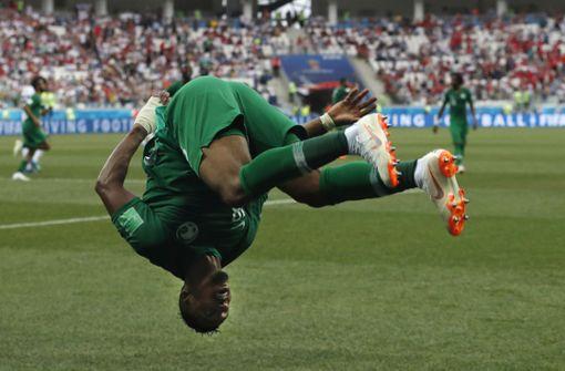 Erster WM-Sieg für Saudi-Arabien seit 24 Jahren