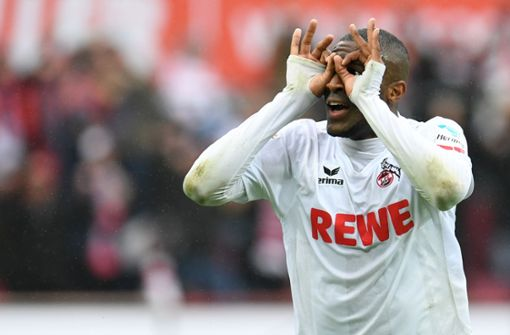 Läuft da was mit Anthony Modeste?