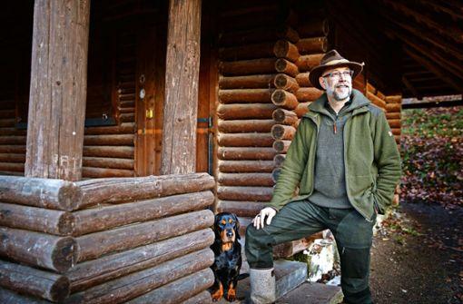 Die Jagd im wohnortnahen Stadtwald  ist aufwendig, sagt Jagdpächter Marcus Seibold. Foto: Gottfried Stoppel
