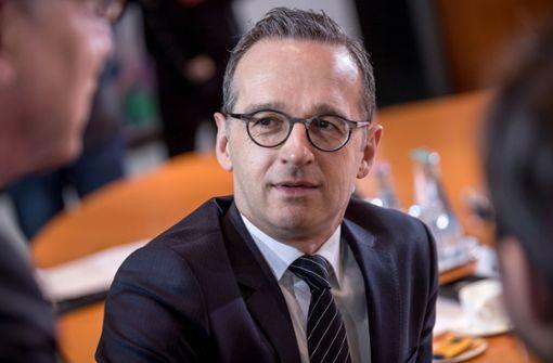 Heiko Maas (SPD) wird Außenminister. Foto: dpa