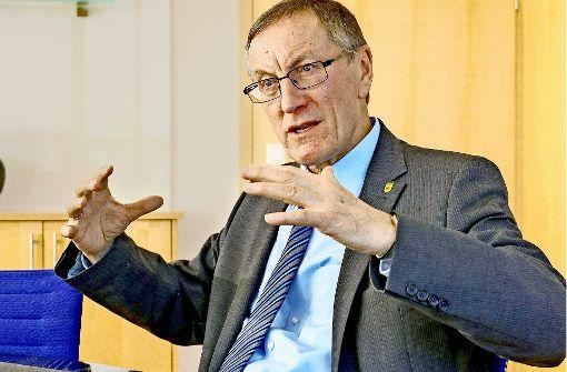Roland Bernhard  glaubt an die Zukunft der Medizinkonzeption. Foto: factum/Granville